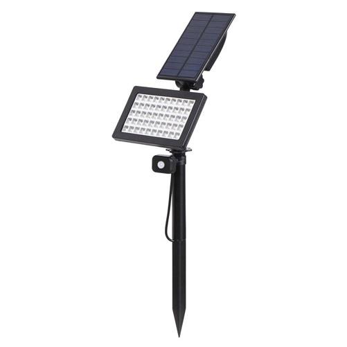 Solar-Spike-Spot-Lights-Outdoor-Garden-Lawn-Led-4-pc-Spotlights-1pc-Solar-Panel-IP65-waterproof