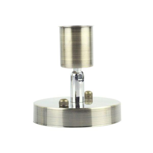 Black-white-silver-bronze-lamp-base-E27-Light-Socket-Antique-Metal-Lamp-socket-Holder-Edison-Screw