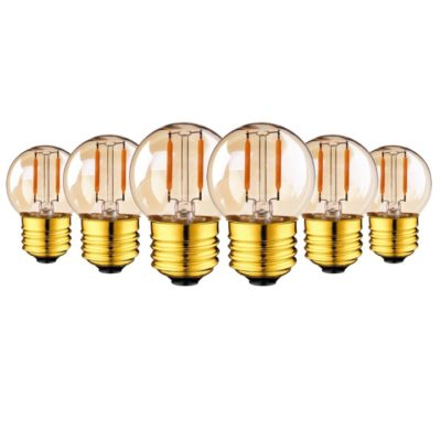 G40-LED-String-Lights-Bulb-Filament-Globe-Lamp-Edison-Bulb-E27-220V-Gold-1W-2200K