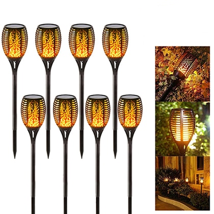 8-pack-set-pathway-landscape-Garden-Solar-light-Flame-Lamp-IP65-Waterproof-Garden-Flickering-Flame-Path-Lighting-Solar-Flame-Lamps