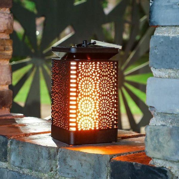 Retro-solar-outdoor-light-led-flame-flickering-lamp-Waterproof-Garden-decorations